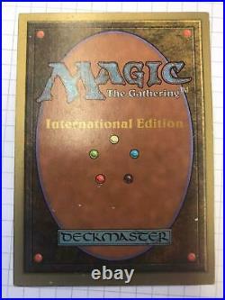 Black Lotus International Edition Near Mint Magic The Gathering