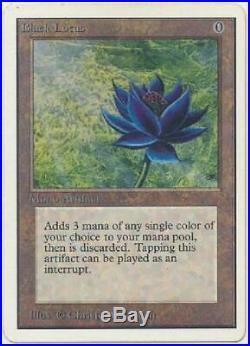 Black Lotus Poor 1033 (Unlimited) Magic MTG Unlimited Single Card