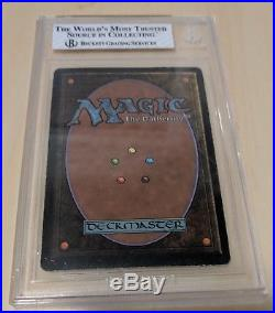 Black Lotus Unlimited Magic The Gathering BGS 5 Excellent