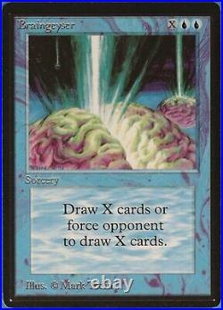 Braingeyser Beta NM Blue Rare MAGIC THE GATHERING CARD (ID# 87279) ABUGames
