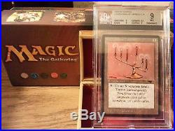 Candelabra of Tawnos Antiquities NM BGS 9.5 Magic The Gathering MTG 94 Old