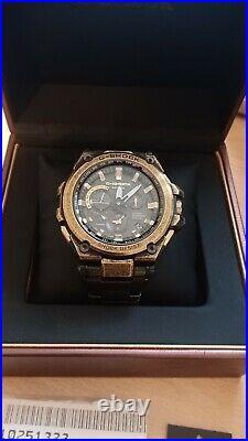 Casio G SHOCK MTG-G1000BS-1AER Vintage Gold IP Watch RARE