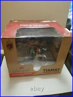 D&D miniatures Icons of the Realms Tiamat and Bahamut Premium Figures! RARE