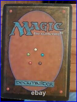 Force of Will Alliances MTG Magic Rare! Played. Small mark on top