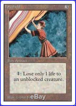 Forcefield Unlimited 1993 RARE X1 Magic the Gathering MTG UNPLAYED MINT