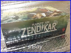 GERMAN Magic MTG Battle for Zendikar BFZ Sealed Booster Box RARE The Gathering