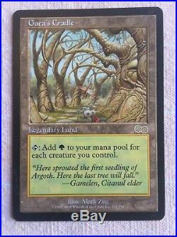 Gaea's Cradle Urza's Saga Near Mint