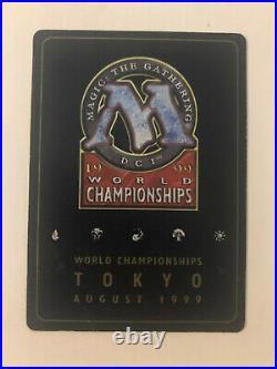 Gaeas Cradle Mtg INKED GB 1999 Tokyo World Championship Matt Linde Gold