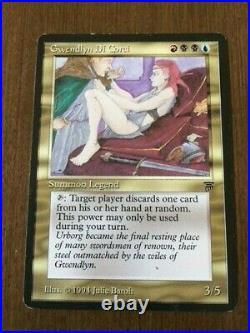 Gwendlyn Di Corci MP/HP MTG Legends EDH Commander Rare Reserved List