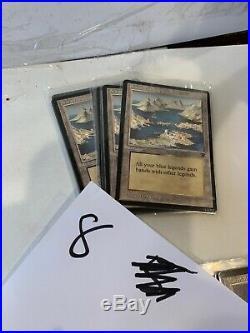 Huge Lot Of 80 Rare Uncommon Magic The Gathering MTG Legends Cards Lands Legenda