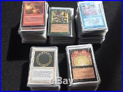 Huge Vintage Magic The Gathering Collection Lot 1995 to 1998 Unsearched Rare