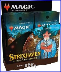 IN HANDMTG Magic The Gathering StrixHaven Collector Booster Box Japanese RARE