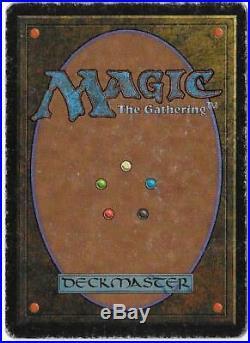 LIBRARY OF ALEXANDRIA HP Arabian Nights MTG Magic the Gathering