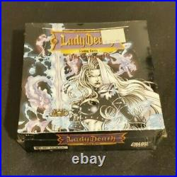 Lady Death The Covenant Factory Sealed Box Chaos Comics VERY RARE VHTF