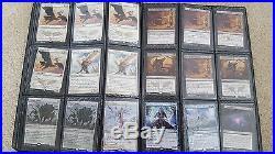 Large Magic the Gathering MtG Colection 700+ Mythic/Rare 100+ Foil Lands
