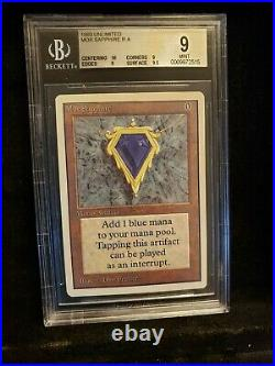 MOX SAPPHIRE UNLIMITED BGS 9 (with 10 & 9.5 subs)