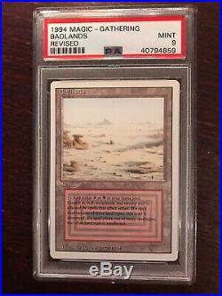 MTG 1994 Badlands Revised x1 PSA 9 MINT #40794859