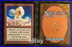 MTG 9 x Beta Rares Lot / Collection Magic Winter Orb, Vesuvan, Etc