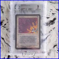 MTG Alpha Blaze Of Glory BGS 9 Reserved List Rare Magic the Gathering