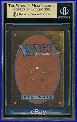 MTG Alpha Shivan Dragon BGS 9.5 (extremely hard to find)