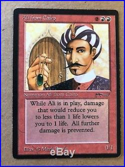 MTG Arabian Nights Ali from Cairo -Magic the Gathering