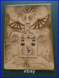 MTG Artist Proof Armageddon Clock (Revised, original art on back by Amy Weber)