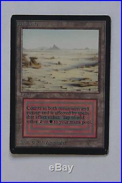 MTG Badlands Beta LP EX/NM