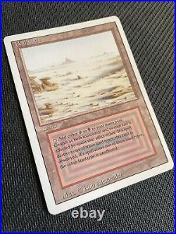 MTG Badlands Revised Edition Rare Super Clean Never Played, See pics pls