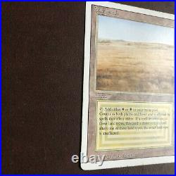 MTG Dual Land Savannah MP Revised Edition Magic the Gathering -c