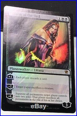 MTG Foil 1X Liliana of the Veil X1 Innistrad Magic ISD Mythic Rare L@@K Pics