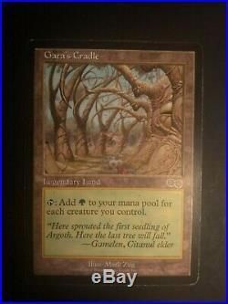 MTG Gaea's Cradle Urza's Saga Rare MP
