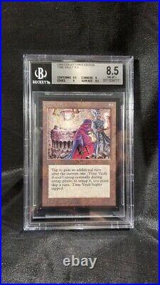 MTG Graded Magic Card Collectors Edition BGS 8.5 Time Vault