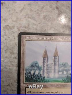 MTG Legends The Tabernacle at Pendrell Vale LP- (Light Binder Ding)