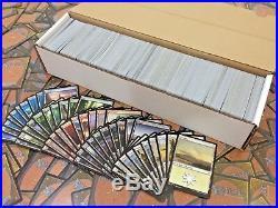 MTG Lotto 1000 Carte Rare, NC, Comuni e Terre Ideali per Starter Deck LEGGI