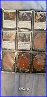 MTG MAGIC grosse collection toute Raretés Co/Unco/rares/Mythic 5 CLASSEURS ULTRA