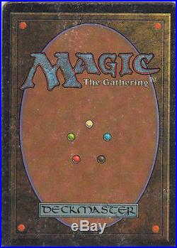 MTG MOX RUBY Unlimited 1993 Original Extremely Rare Excellent