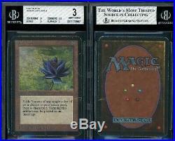 MTG Magic Alpha Black Lotus BGS 3 B+++ (TCC)