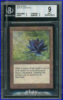 MTG Magic Alpha Black Lotus BGS 9 QUAD MINT (TCC)