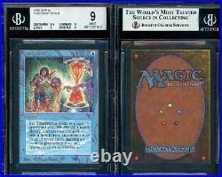 MTG Magic Alpha Timetwister BGS 9B Mint (TCC)