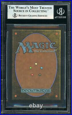 MTG Magic BGS 9 7th Edition Foil Square Cut City of Brass Miscut