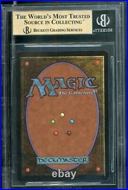 MTG Magic Beta Black Lotus BGS 9.5 B++ GEM MINT (TCC)