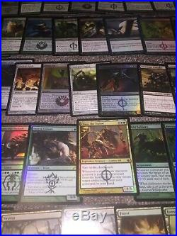 MTG Magic FOIL EDH INFECT DECK Many Rares and Mythics Infect Commander