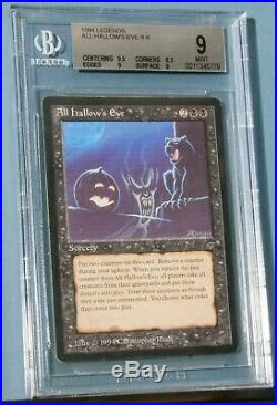 MTG Magic The Gathering Legends All Hallow's Eve BGS 9 Mint