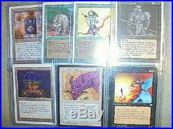 MTG Magic The Gathering Revised, Unlimited, +HUGE CARD LOT/350+RARES+LOTS OF NM+$$