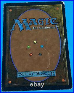 MTG Magic The Gathering Time Vault Unlimited Version HP Heavy Play P Poor Rare