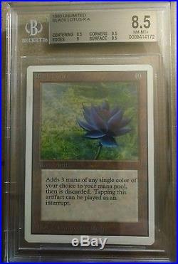 MTG Magic The Gathering Unlimited Black Lotus BGS 8.5 NM-MT+ Power 9 P9