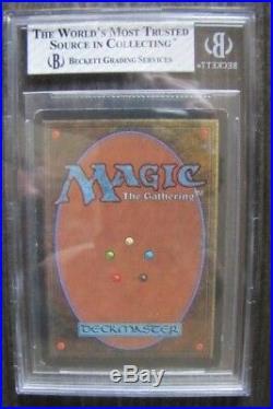 MTG Magic The Gathering Unlimited Mox Pearl BGS 7 Near Mint