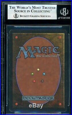 MTG Magic Unlimited Time Walk BGS 8.5 Q++ NM-MT+ (TCC)