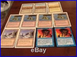 MTG Magic the Gathering Card Collection Playset, Dual lands 6500 Cards Rare HTF