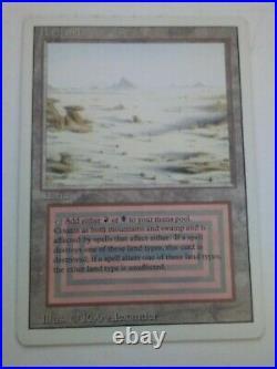 MTG Magic the Gathering English Badlands 1994 Revised 3rd Edition Dual Land LP